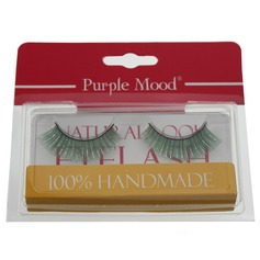 1 Pair Charming Green Shimmer Cannetille Style False Eyelashes CFE465