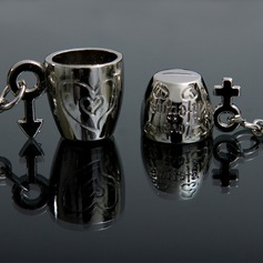 Classic Lovely Cup Zinc alloy Keychains