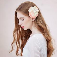 Especial Seda artificiales Peines y pasador/Flores y plumas