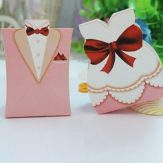 Pink Tuxedo & Gown Favor Box (set of 6 pairs) (050005791)
