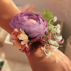 Lovely Cloth/Ribbon Wrist Corsage