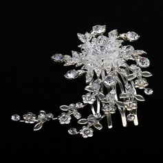 Shining Crystal/Alloy Combs & Barrettes