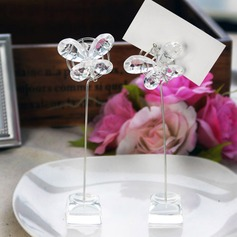 Butterfly Acrylic Place Card Holders (Set of 4)