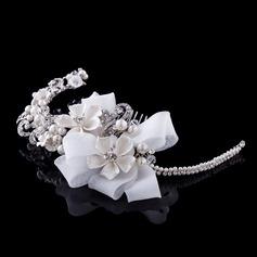 Charming Rhinestone/Alloy/Imitation Pearls/Lace Combs & Barrettes/Headbands