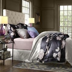 Retro Cotton Comforters (4pcs :1 Duvet Cover 1 Flat Sheet 2 Shams)