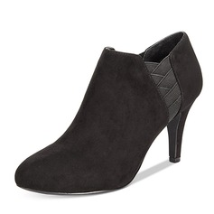 Women's Suede Stiletto Heel Boots Ankle Boots shoes