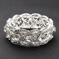 Unique Alloy/Rhinestones Ladies' Bracelets