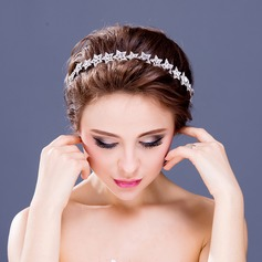 "Amazing Silver Plated/""A"" Level Rhinestone Headbands"