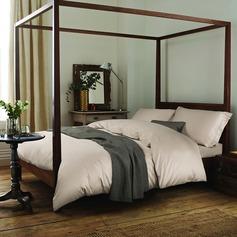 Modern/Contemporary Casual Cotton Comforters (4pcs :1 Duvet Cover 1 Flat Sheet 2 Shams)