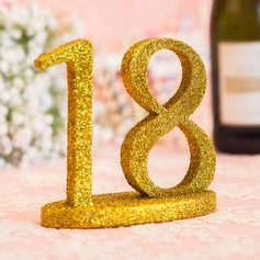 Personalized PVC Table Number (Set of 10)