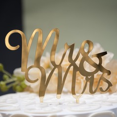 Mr. & Mrs. Acrylic Cake Topper (119074054)