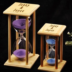 60 Minutes Personalized Attractive Creative Glass Ornament/Hourglass (Sold in a single piece)