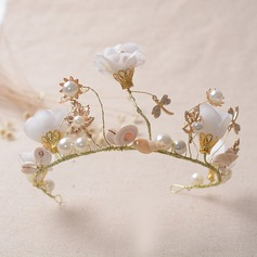 Beautiful/Fashion Alloy/Imitation Pearls Tiaras
