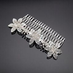 Simple Rhinestone/Alloy Combs & Barrettes
