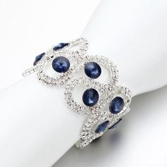 Attractive Alloy/Rhinestones Ladies' Bracelets