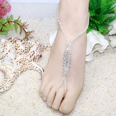 Crystal Glass Foot Jewellery Accessories (107039368)