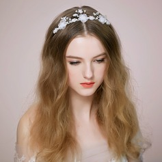 Lovely/Flower Shaped Alloy/Imitation Pearls Headbands