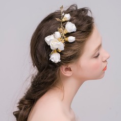Lovely Crystal/Alloy/Silk Flower Hairpins/Combs & Barrettes