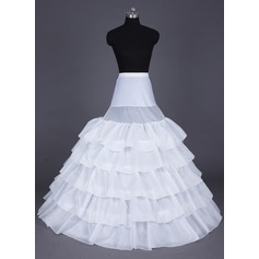 Women Nylon Floor-length 5 Tiers (037041515)