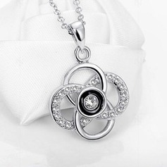 Charming Alloy/Rhinestones Ladies' Necklaces