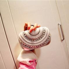 Fashional PU/Rhinestone Wristlets/Fashion Handbags