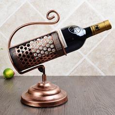 Créatif Acier inoxydable/Placage Porte-bouteille / Casier à bouteilles