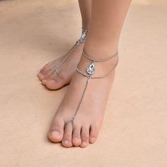 حجر الراين مجوهرات القدم (تباع في قطعة واحدة)