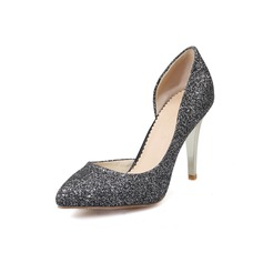 Femmes Pailletes scintillantes Talon stiletto Escarpins chaussures