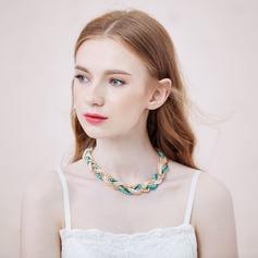 Shining Imitation Pearls Crystal Ladies' Fashion Necklace