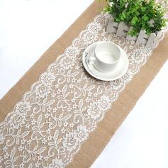 غطاء طاولة كتان (تباع في قطعة واحدة) بسيط المركزية الجدول (128152265)