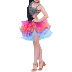 Enfants Tenue de danse Polyester Danse latine Robes (115086690)