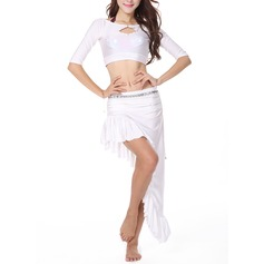 Kvinder Dansetøj Elasthan Øvning Dragter