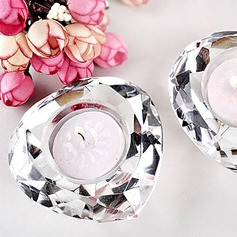 Crystal Diamond-Shaped Candle Favor(096017631)