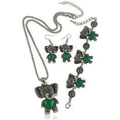 Fashional Alloy Turquoise Women's Jewelry Sets