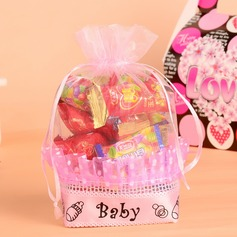"""Baby"" Favor Bags With Ribbons (Set of 12)"