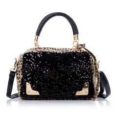 Fashional PU With Sequin Fashion Handbags