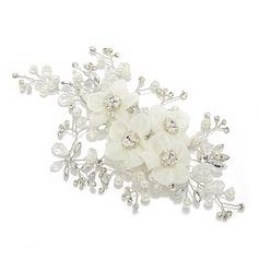Le plus chaud Cristal/Soie artificielle Fleurs et plumes
