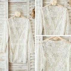 Lace Feminine Sleepwear/Sun-protective Clothing