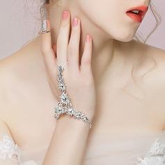 Shining Alloy With Rhinestone/Beads Women's/Ladies' Bracelets