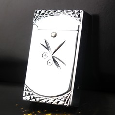 Dragonfly Design Stainless Steel Electronic Lighter