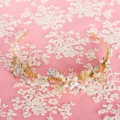 Classic Rhinestone/Alloy/Imitation Pearls Tiaras/Headbands
