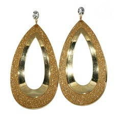 Shining Alloy With Rhinestone Women's Earrings