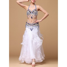 Women's Dancewear Cotton Polyester Chiffon Belly Dance Outfits