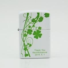 Personalized Floral Design Metal Lighter