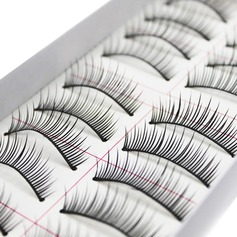 10 Pairs High Quality Thin Long Style False Eyelashes CFE009