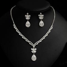 Elegant Rhinestones/Zircon Ladies' Jewelry Sets