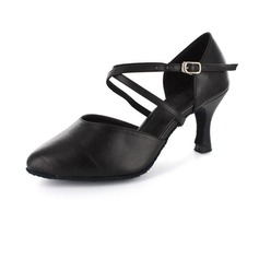 Leatherette Heels Latin Dance Shoes (053020093)