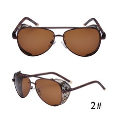 UV400 Retro/Vintage Aviator Sun Glasses