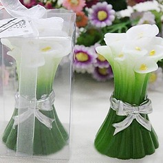 Green Calla Candle Favor (Set of 4)(096017615)