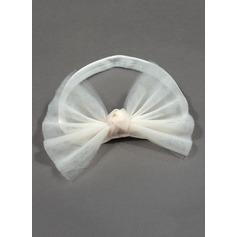 Net Yarn/Elastic Headbands